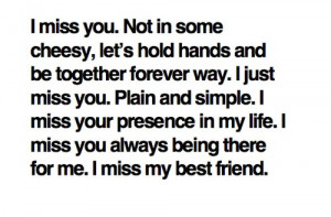 best friends, breakup, cheesy, couple, ex, life, miss, miss you, quote ...