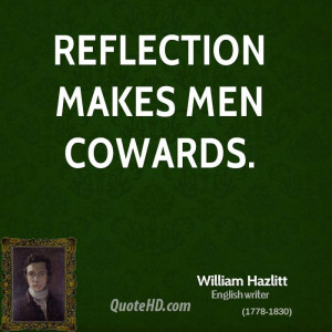 William Hazlitt Men Quotes