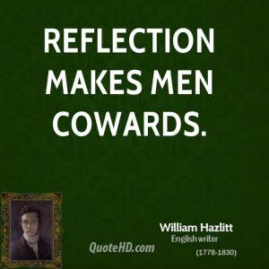 William Hazlitt Men Quotes