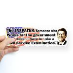 ... Quotes - Republican Quotes > Reagan Quote - Taxpayer works for the