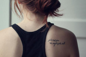 quotes about life quotes about life tattoo quotes quote tattoos quotes ...