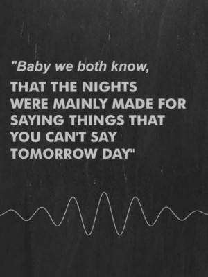Night Time Love Quotes