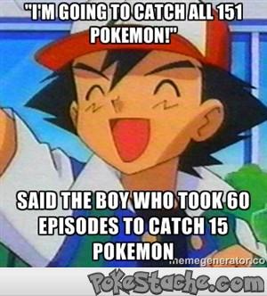 Ash Ketchum is a Pokemon Master