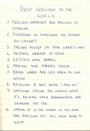 best feelings in the world quotes