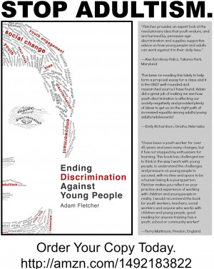 Quotes about Ending Discrimination Against Young People by Adam ...