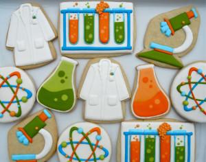 Mad Scientist Cookies