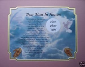 Loved Ones in Heaven Poems