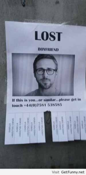 Lost boyfriend - Funny Pictures, Funny Quotes, Funny Memes, Funny Pics ...