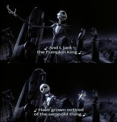 Nightmare Before Christmas Quotes Nightmare before christmas