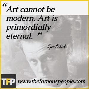 Egon Schiele Biography