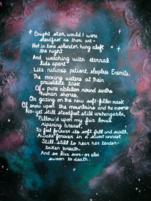 Bright Star' by John Keats
