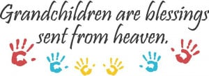 Grandchildren Are Blessings - Beautiful Wall Decals