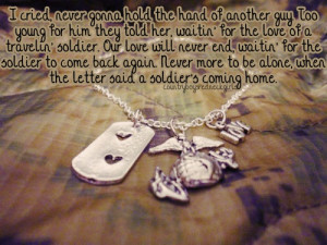 Soldier Coming Home Quotes A soldier's coming home... found on 25 ...