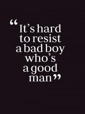 Bad Boy Quotes Tumblr Bad boy, good man on we heart