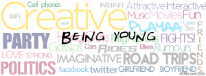 Being young fb cover photo