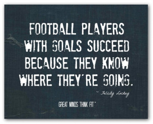 motivational football quote 001 football players with goals succeed ...