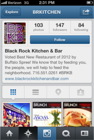 Cool Instagram Bio Quotes Instagram black rock kitchen