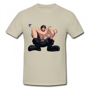Personalize Pre-Cotton Tshirt Mans Portgas d ace with big hands in one ...