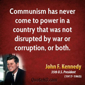 Communism Funny Quotes John f. kennedy war quotes