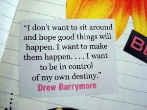 barrymore, drew, drew barrymore, quote