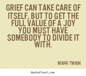 Famous Quotes About Grief