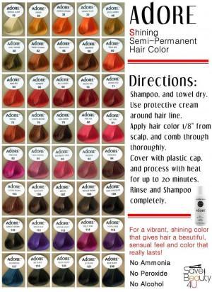 use aquamarine adore hair color: Hair Colors, Hair Dyes, Adorable ...