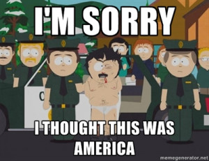 To those complaining about South Park memes