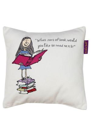 Roald Dahl - Matilda Cushion