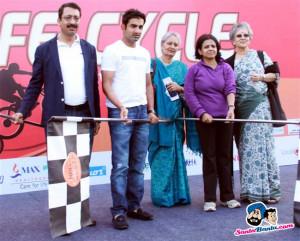 Cricketer Gautam Gambhir and Environmentalist Sunita Narain Motivate ...