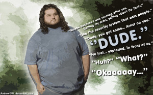 Hugo 'Hurley' Quotes wallpaper by AndrewSS7