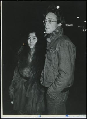 John Lennon Yoko Ono Signed