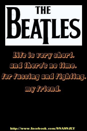 Beatles song quotes #Beatles #Friend #quote #saying via http://mw2f ...