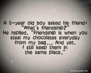 Definition of true friendship.