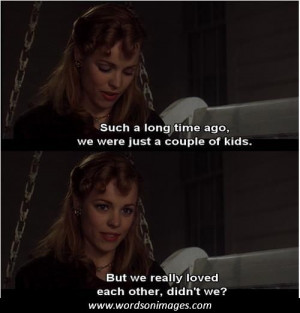Famous quotes from the notebook