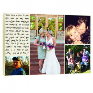 Custom Canvas 10X10 Family Storyboard Collage Canvas