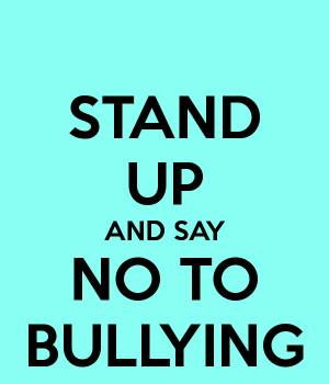 say no to bullying png