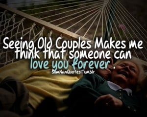 couple, old, cuddling, kiss, sumnanquotes - inspiring picture on Favim