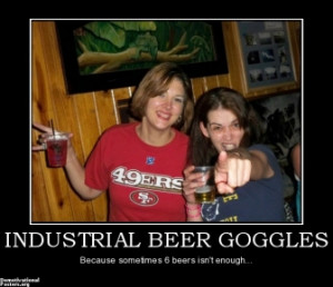 drunk girls meme beer goggles