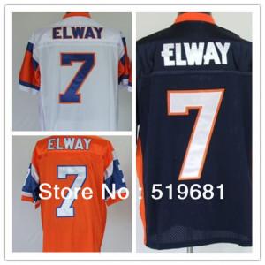männer rückfall Elite genäht broncos elway #7 american football ...