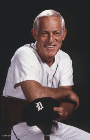 Sparky Anderson - needs to be in a Cincinnati Reds uniform