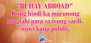 Tagalog OFW Quotes
