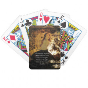 Uplifting Buddha Quote Card Deck