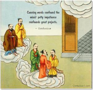 Confucius , ...
