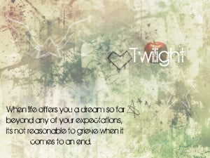 Twilight Quotes Wallpaper with 1024x768 Resolution