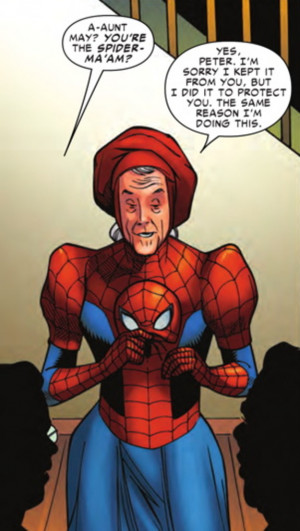 SPIDER-VERSE Finally Gets Around to the AMAZING SPIDER-MA'AM, and Yes ...