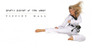 Sporty Sister of the week' article