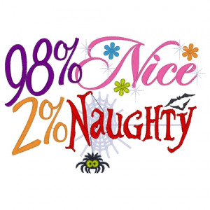 Sayings (3200) Nice & Naughty 5x7