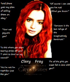 Lily Collins-Clary Fray by KittyCat33