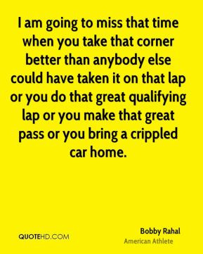 ... lap or you do that great qualifying lap or you make that great pass or