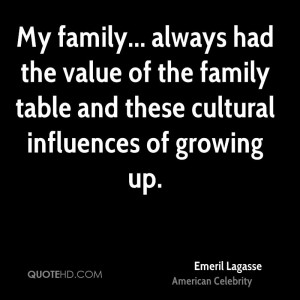 Emeril Lagasse Family Quotes